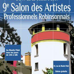 Participation au salon des Artistes Professionnels Robinsonnais