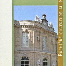 Participation et travail de restauration au Château d'Asnières