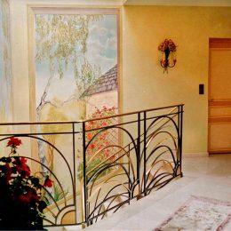Panoramique cage d'Escalier - Particulier - (huile)