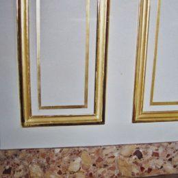 Faux marbres au consulat Américain - Hôtel de Talleyrand - Travail demandé par la maison B.Daugert
